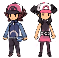 pokemon BW trainer spritetrans by emlan