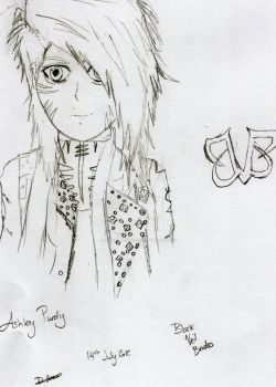 Ashley Purdy - Uncoloured by DemiMajestics