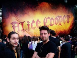Alice Cooper Psycho-Drama Tour by makampo