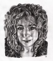 Alex Kingston by Art-For-Our-Hearts