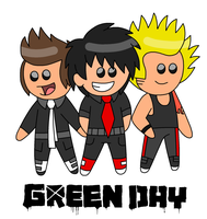 GREEN DAY Chibis by IvaIvanic
