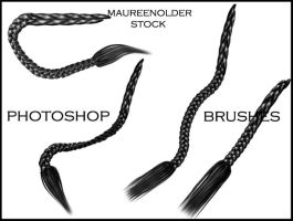 STOCK PHOTOSHOP BRUSHES hair 5 by MaureenOlder