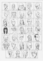 Heads 35-68 by one-thousand-heads