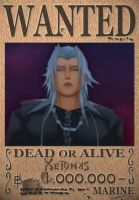 Xemnas Wanted Poster by SoraKing