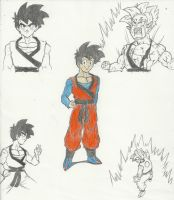 Dragonball Beyond: Goten (Post-Time Skip) by chrisolian