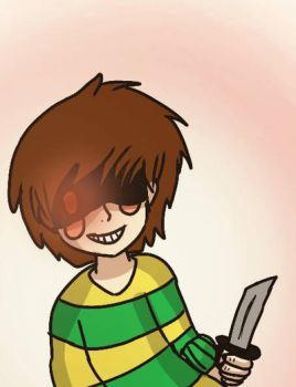 Chara (Undertale) by DXMInecrafter