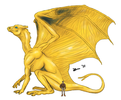 Gold Dragon - Vaioan Base by Cheddarness8