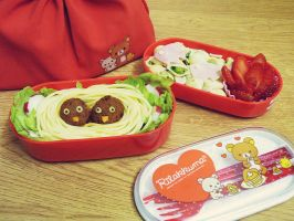 pasta bento contest entry by st3rn1