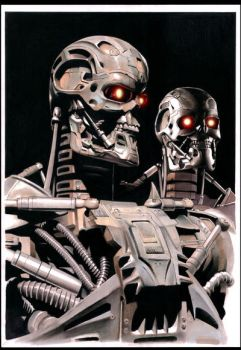 TERMINATOR SALVATION by cuccadesign