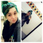 Walmart bathroom selfie style by jujugasm
