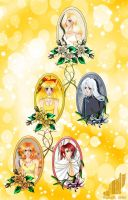 Venus family tree by Black-Umi
