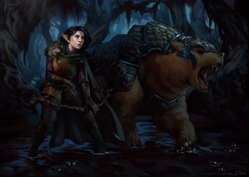 Critical Role - Vex and Trinket by Darantha