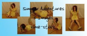 Summer Adventures 2 by kime-stock