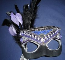Purple Black Mask 1 by Easnadh
