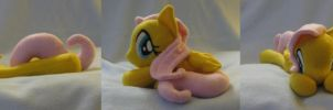 Fluttershy Beanie Commission by SailorMiniMuffin