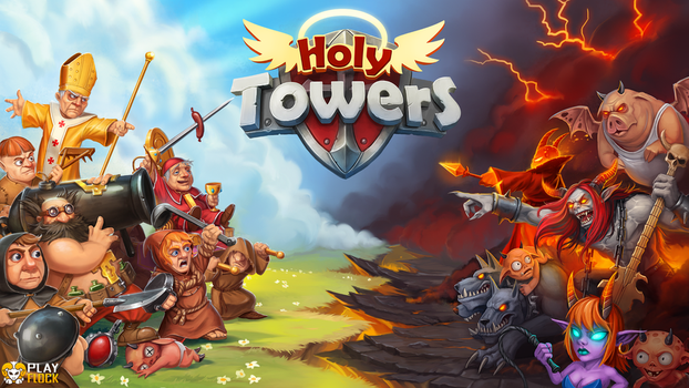 Holy Towers by baklaher