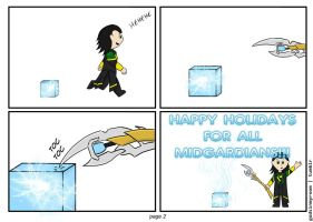 Loki and the end of the year part 2 by dragaodepapel