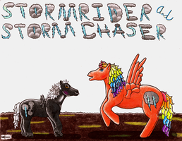 Stormrider Stormchaser color by VioletWhirlwind