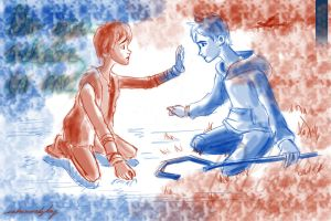 Hiccup and Jack Frost: Do You Believe in Me? by inhonoredglory