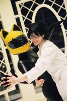 DRRR: Celty and Shinra by jjkou