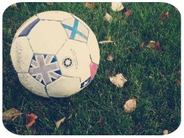 Soccer before winter. by AlexMassacre