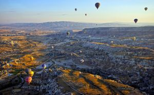 Sunrise over Cappadocia 12 by CitizenFresh