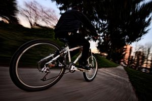 Blitzing Bicycle by Coltography