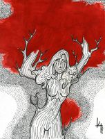 A tree is a woman by kyo-black