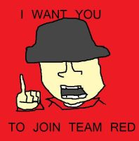 I want YOU to join team RED by echosnake