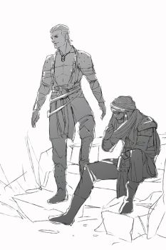 Naruto and Game of Thrones crossover WIP by Ekcess