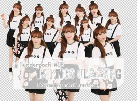 [Renderpack] #08 - 12 PNGs Ulzzang by MichiyoNguyen