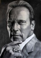 Arnold Swarzenegger by donchild