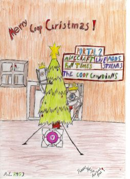 The coop christmas :) by r4g3wolf12