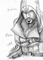 Ezio (Brotherhood) by ThisBodomLake