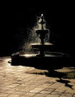 Fountain of gold by LilithDarck