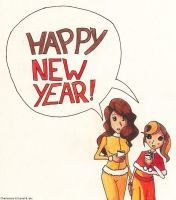 New Year 2013 by SamCyberCat