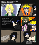 Tsunade's Drunken Frenzy page 2 (colored) by Catgirl08