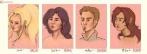 The Crew - Profiles by Jessimie