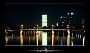 a bridge through the night by fxcreatography