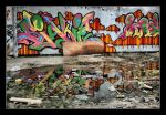 Breukelen Graffiti by DimitriKING