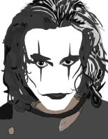 The Crow No Pen work 2 by daylover1313