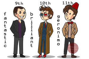 The Doctor and pockets by Mariana-S