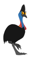 Cassowary by Promilie