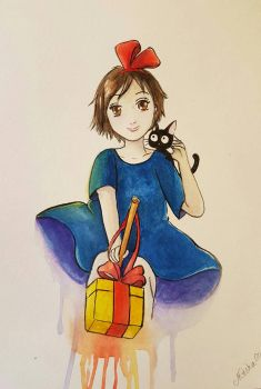Kiki's Delivery Service by Mesha25