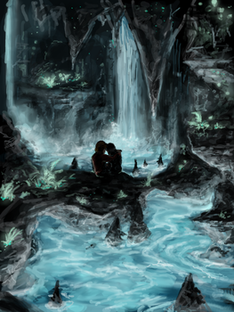 Crystal waters:Speed paint by Travis-Anderson