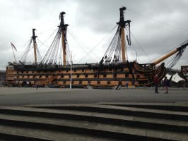 HMS Victory #1 by Orochising