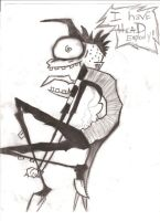 Johnny The Homicidal Maniac by mypuppy1