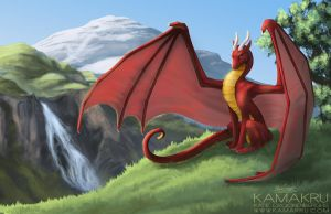 From high on the Mountain by Kamakru