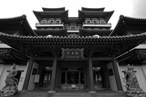 Buddha Tooth Relic Temple by oceancrane