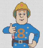 Fireman Sam Pattern by KittyBywaters